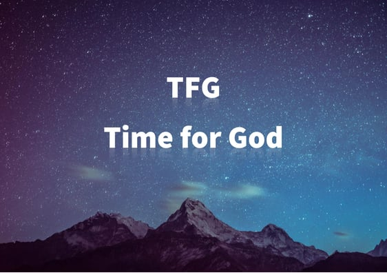 Time for God TFG Logo Icon